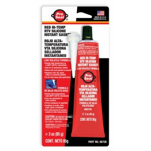 Pro Seal Red Hi-Temp Silicone 85 g.