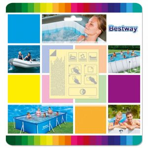 Bestway víz alatt ragasztó folt lágyfalu medencéhez 10 db