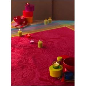 Isaphire Rubis pamut asztalterítő 175x175 cm
