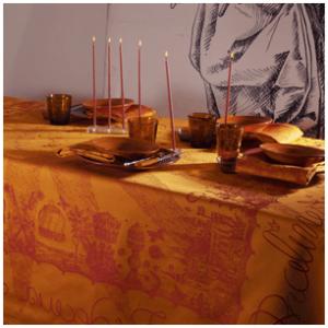Soleil Safran asztalterítő 175x175 cm