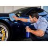 Prémium minőségű mikrószálas autóápoló  kendő 40x63 cm (kék)